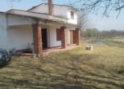 Vendo casa frente al río santa rosa de calamuchita