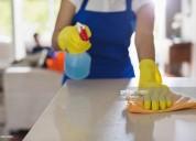 Realizo tareas de servicio domestico