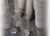 Vendo variedad de vasos por cierre de local