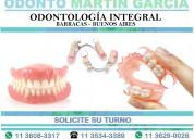 Prótesis dentales estéticas, flexibles, reparacion