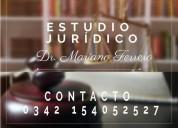 Estudio jurídico. dr. mariano ferrero