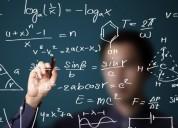 Apoyo escolar matemáticas