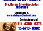 Abogados divorcios despidos desalojos 4305-6373