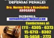 Abogados divorcios despidos desalojos penal25añosd