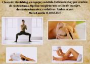 Masajes a domicilio - elongaciÓn asistida