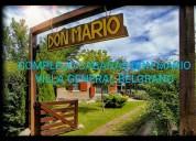Villa general belgrano complejo cabaÑas don mario