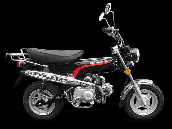 Vendo, remato Moto Zanella Hot 90cc