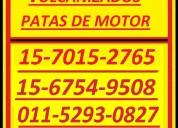 Piezas especiales 15-6754-9508 patas motor vulc