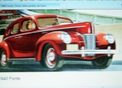Burletes nuevos automoviles ford  ** 1934 -1952 **