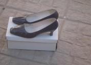 Zapatos muy finos azul oscuro dama