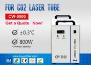Enfriador de agua industrial pequeño cw-5000