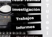 Asesoría de tesis, tesinas, y monografías