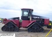 Tractor case vulcanizado de sus mazas rodamarsa