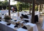 Catering para bodas y 15 años con todo incluido