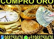 Compro oro y plata - relojes - joyas - cochinilla