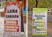 Diseños de carteles para verdulerias en 9 de julio