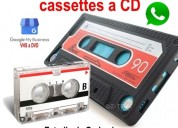 Audio cassette a pendrive o cd