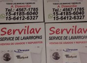 Lavarropas-tecnicos a domicilios 4567-1785