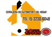 Cerrajería las 24 hs tel:15-32306048