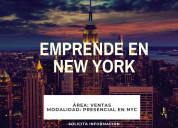 Vive y trabaja en new york