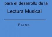 Libro para desarrollar lectura musical en el piano