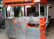 Vendo carrito hamburguesero con panchera (medidas