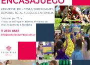 Kits de alquiler encasajuego - by valkirias shows