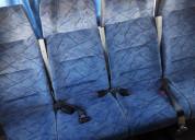 Butacas para minibus