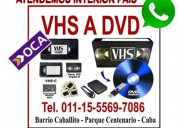 Vhs video a dvd, pen drive o disco rigido.