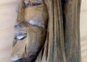 Artesanía - cabeza de cristo en palo santo
