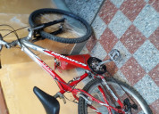 Bicicletas mtb rod.27,24 seminuevas
