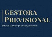 Gestora previsional ( jubilaciones y pensiones )