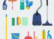 Kl limpieza general de espacios y finales de obra