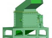 Triturador de vidrio. solo planos de manufactura.