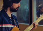 Clases de guitarra y bajo zona san telmo, la boca