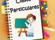 Clases de apoyo para primaria