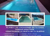 Victoria piscinas construye la pileta de tu sueños