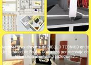 Arquitecta da cursos de revit 2 y 3d p/dibujo técn