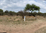 Vendo hectarea de terreno sobre la ruta en villa c